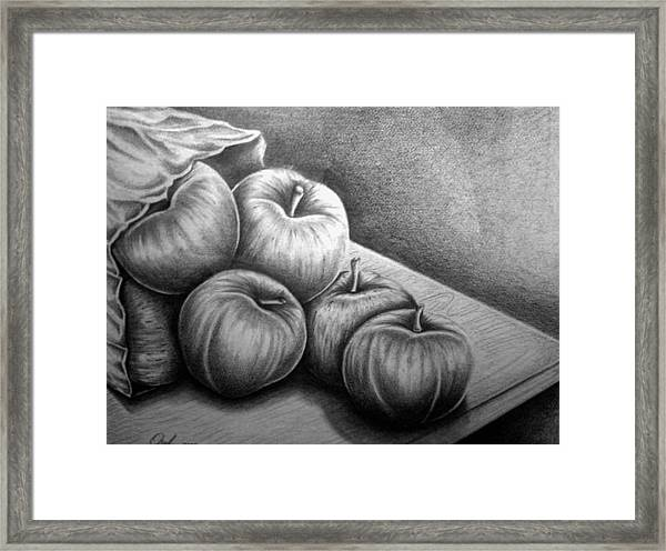 Still Life Drawing Framed Print