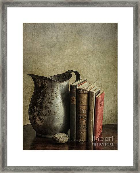 Still Life With Pitcher Framed Print