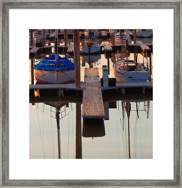 Still Sailing Framed Print