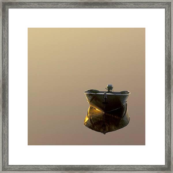 Still Water Framed Print