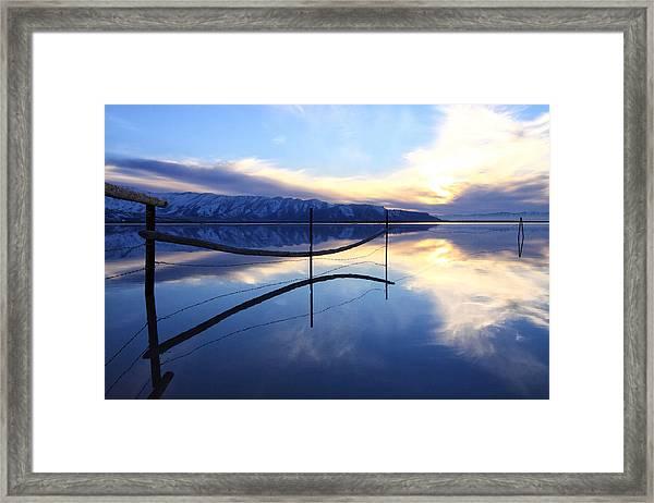 Stillness Framed Print by Darryl Wilkinson