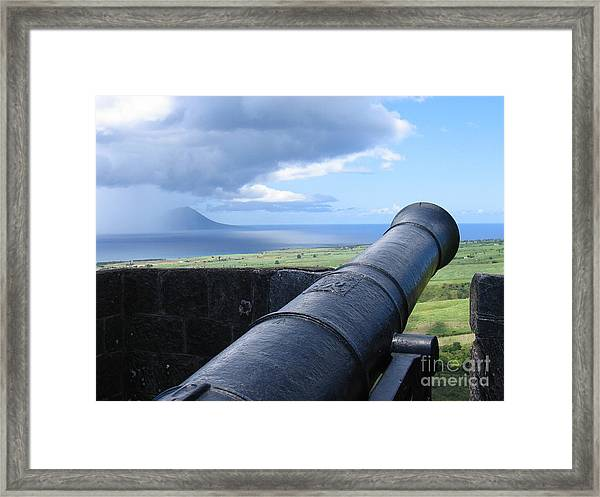 St.kitts Nevis - On Guard Framed Print