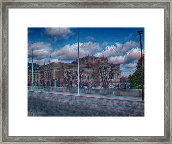 Stockholm Opera Framed Print