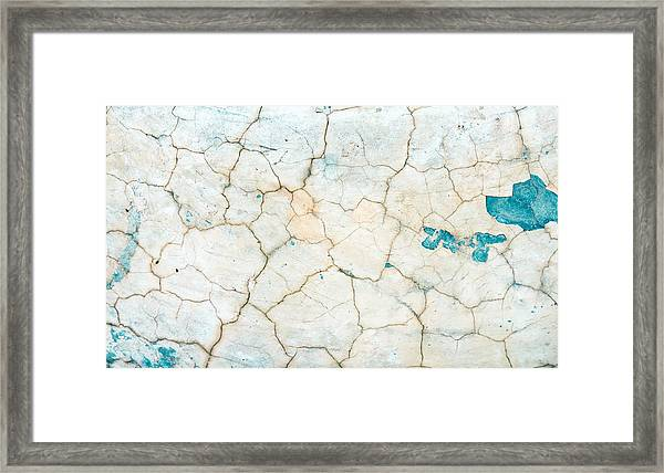 Stone Backgorund Framed Print