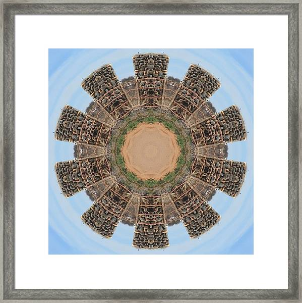 Stone Building Framed Print