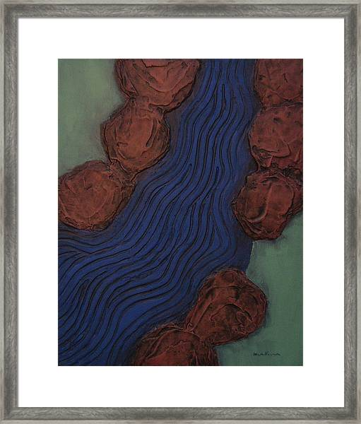 Stoney Brook Framed Print
