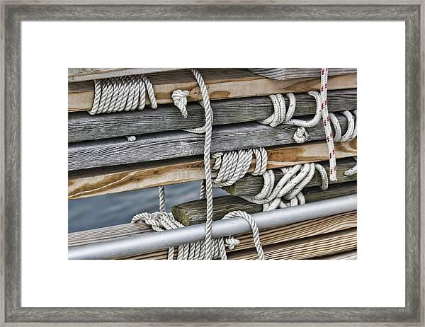 Stonington Wood Framed Print