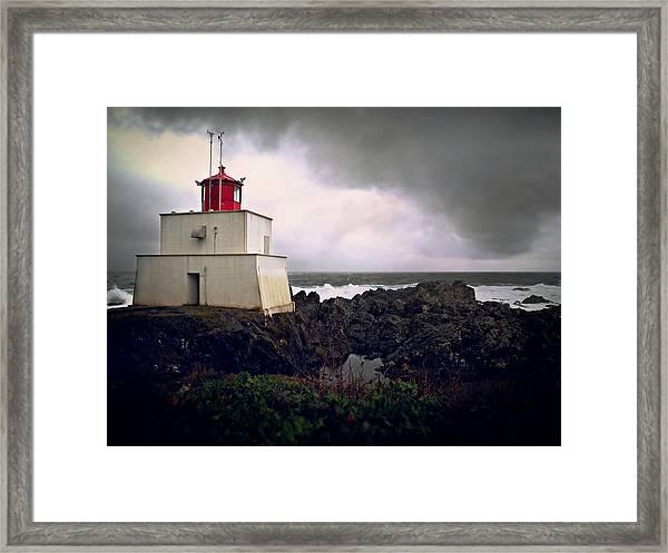 Storm Approaching Framed Print