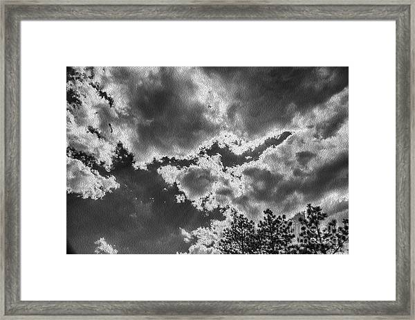 Storm Break Framed Print