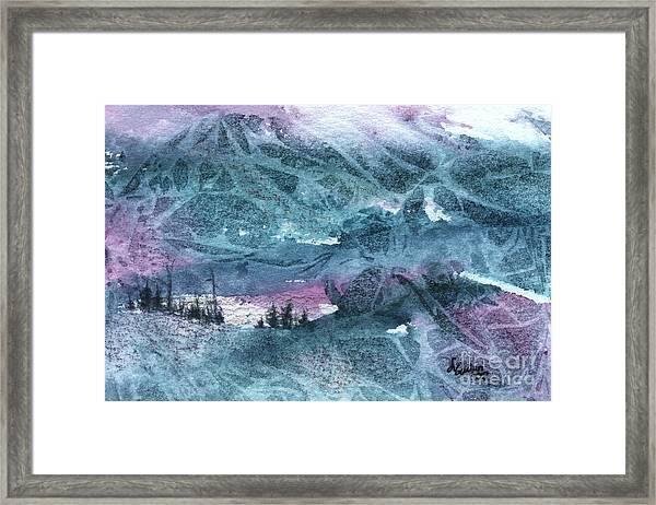 Storm II Framed Print