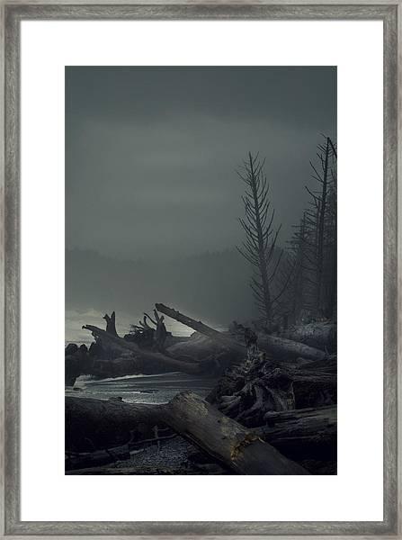 Storm Aftermath Framed Print