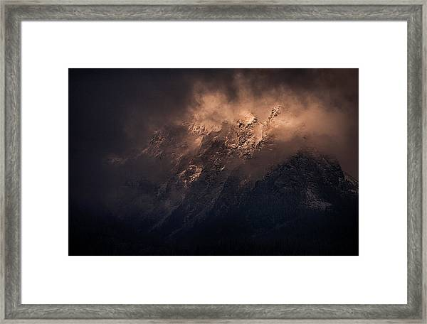 Storm Is Over Framed Print by Peter Svoboda, Mqep