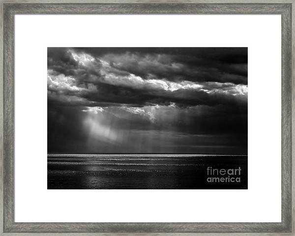 Storm Watching Framed Print