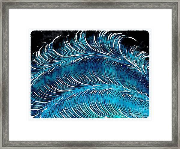 Storms At Sea Framed Print