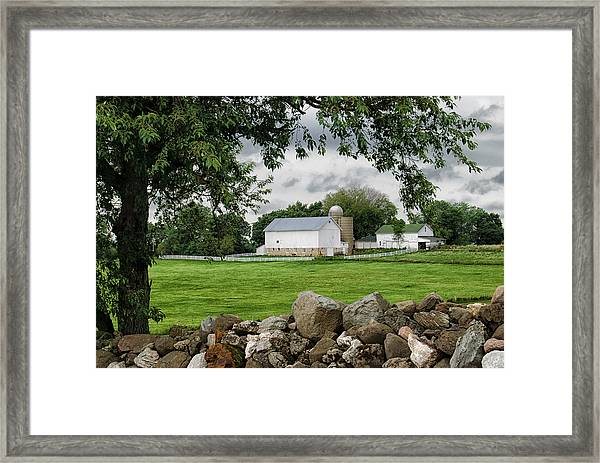 Storms On The Way Framed Print