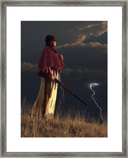 Stormwatcher Framed Print