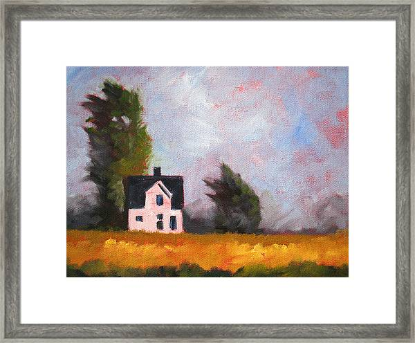 Stormy Afternoon Framed Print