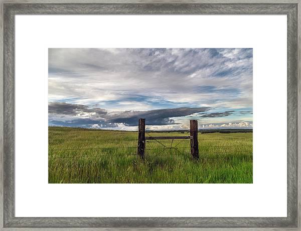 Stormy Days Framed Print