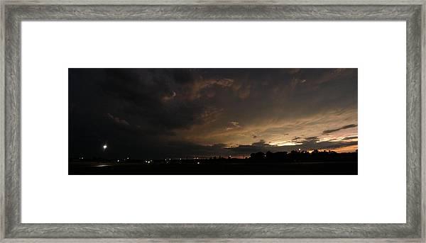 Stormy Night Framed Print