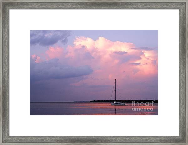Stormy Seas Ahead Framed Print