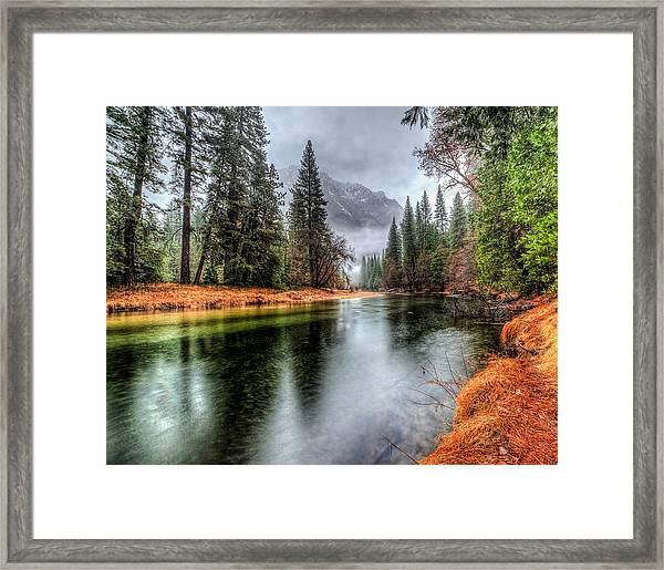 Stormy Yosemite II Framed Print