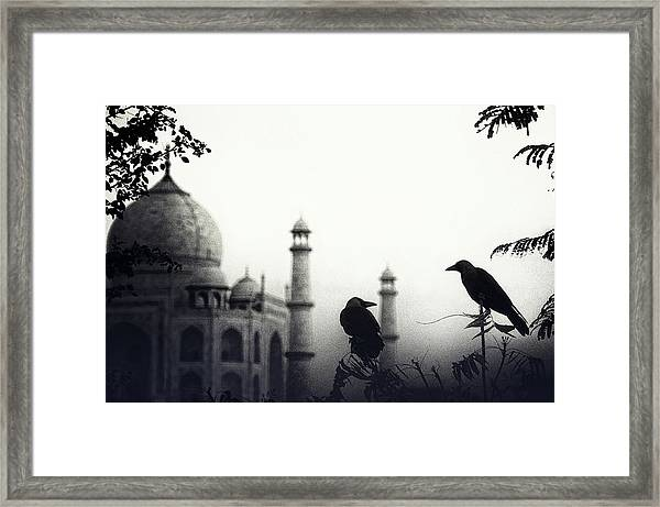Story About 2 Lovers Framed Print by Piet Flour