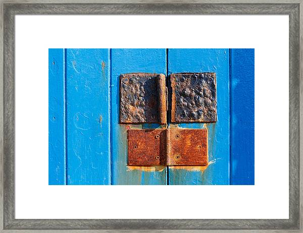 Story In Rust Framed Print
