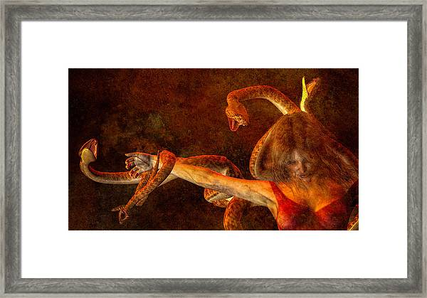 Framed Print featuring the photograph Story Of Eve by Bob Orsillo