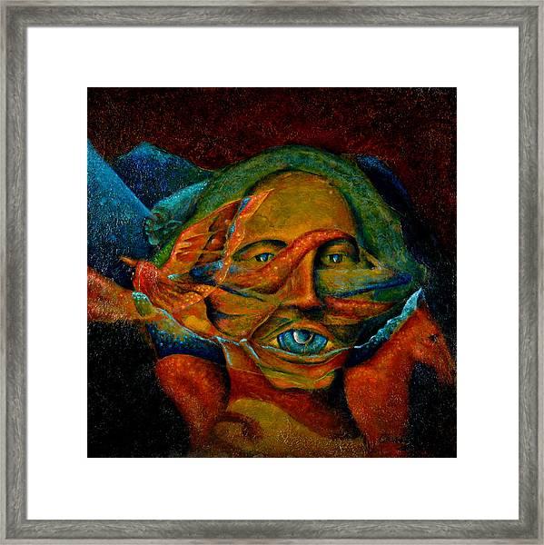 Storyteller Framed Print