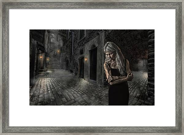 Stowing Away The Time Framed Print