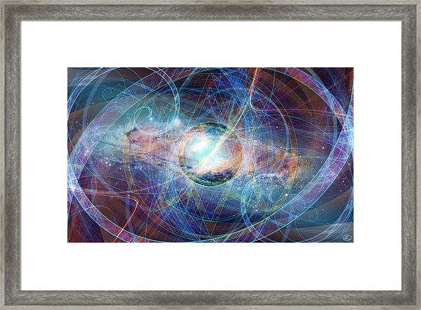 Straight On Til Morning Framed Print