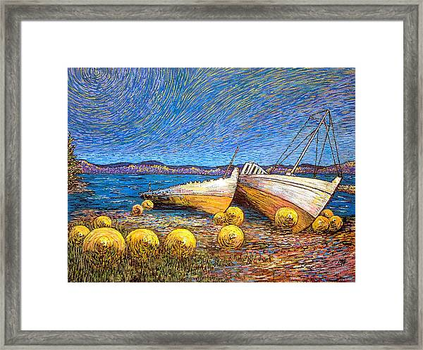Stranded - Bar Road Framed Print