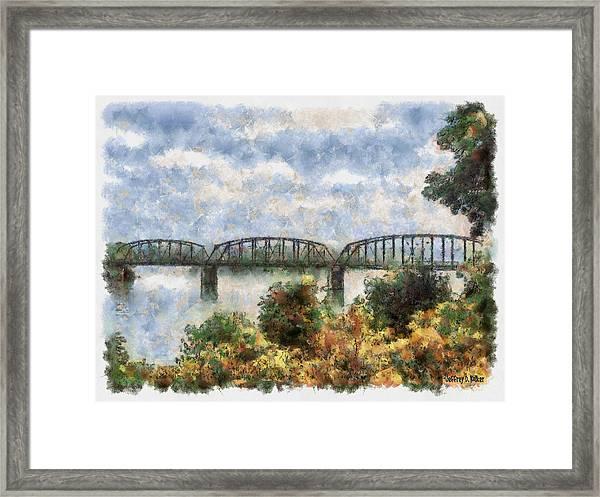 Strang Bridge Framed Print