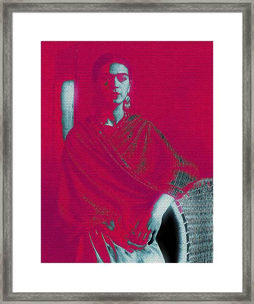 Strange Frida Framed Print