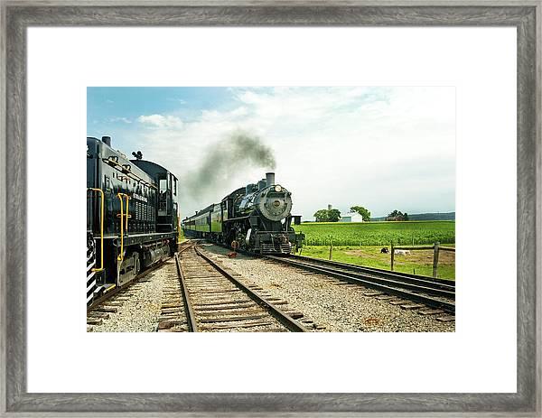 Strasburg Express Framed Print