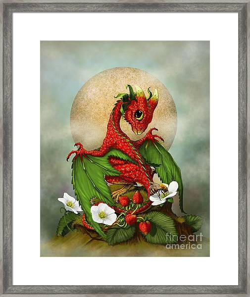 Strawberry Dragon Framed Print