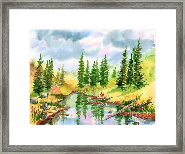 Strawberry Reservoir 2 Framed Print
