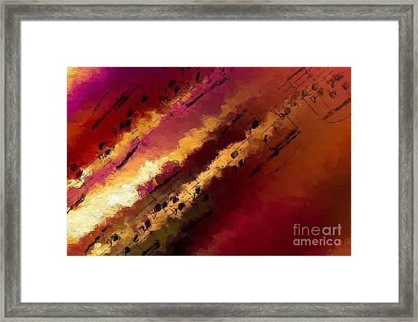 Streams Of Illumination Framed Print
