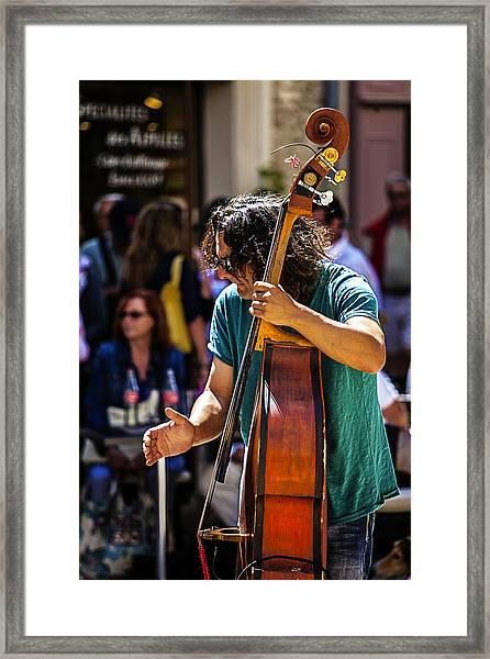 Street Jazz - St. Remy Style Framed Print
