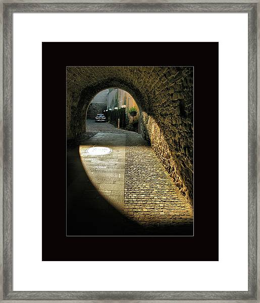 Street Photography - Romania Framed Print
