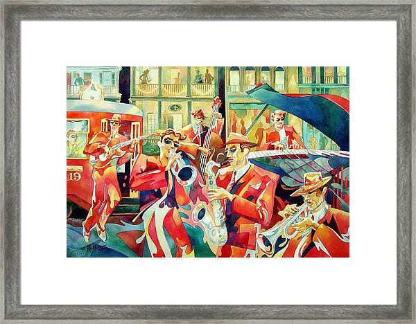 Streetcar 19 Framed Print