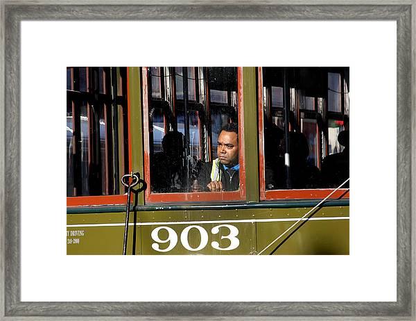 Streetcar 903 Framed Print