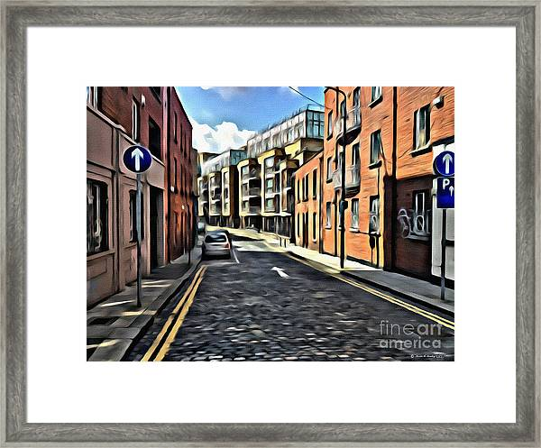 Streets Of Ireland Framed Print