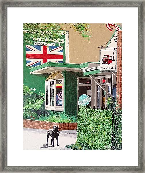 Streets Of London Pub Framed Print by Paul Guyer