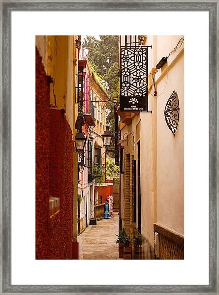 Streets Of Seville  Framed Print
