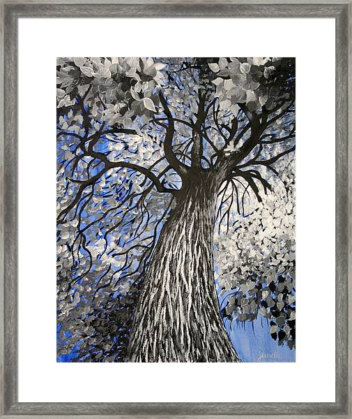 Strength And Resilience Framed Print