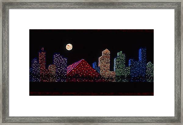 Strip Series - City Framed Print