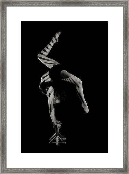 Stripes Framed Print by Howard Ashton-jones