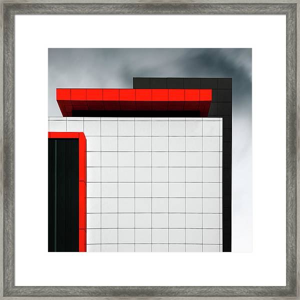 Structure Wal Framed Print