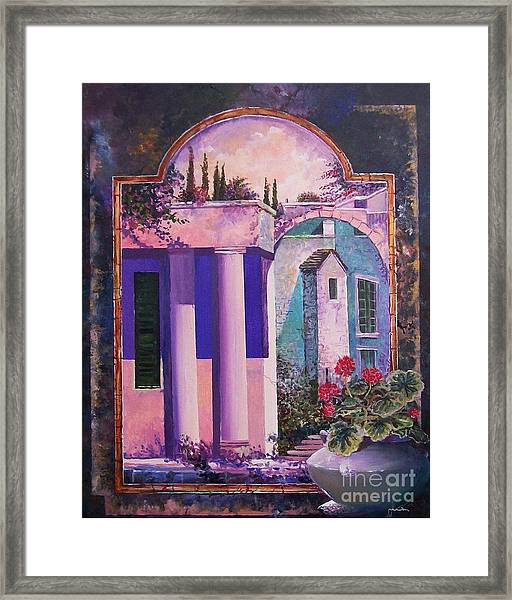 Structures With Emotional Dimensions Framed Print